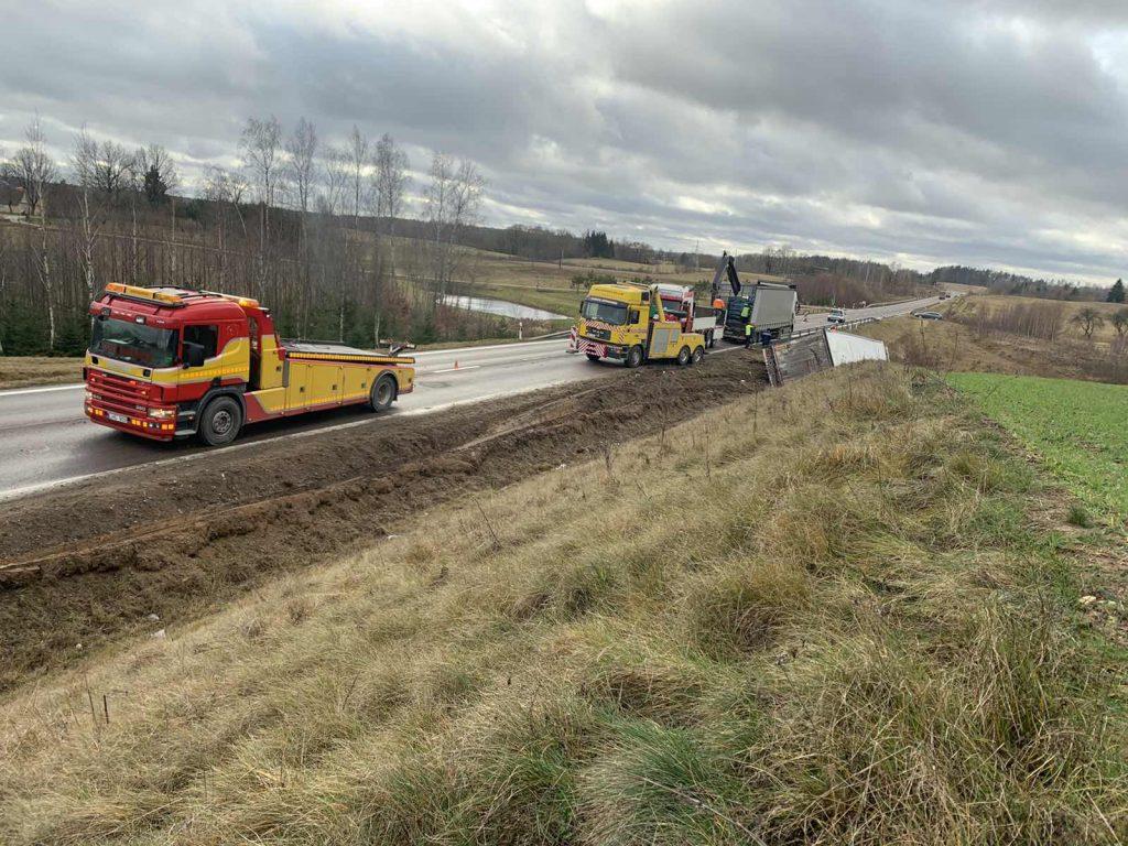 sukvežimių techninė pagalba kelyje